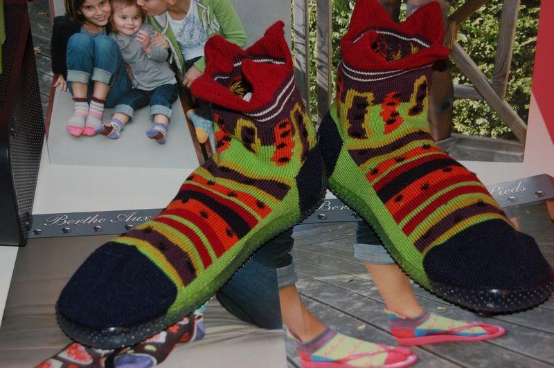 Shoes-raies-pois-couronne