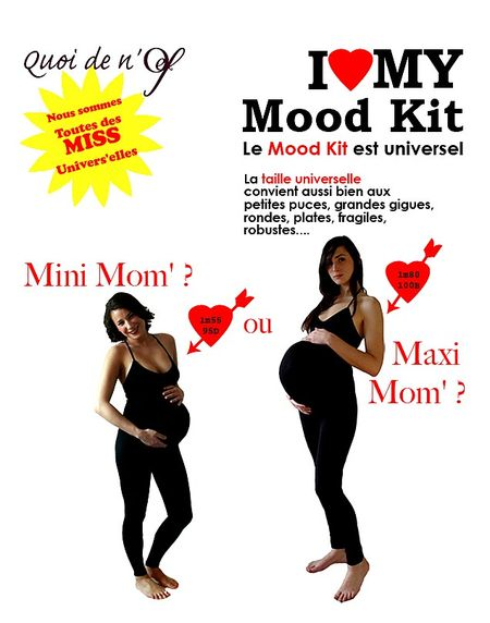 Taille universelle-du mood-kit