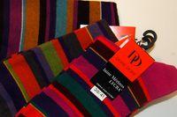 Chaussettes Dore-Dore en laine merinos lycra rayures assorties