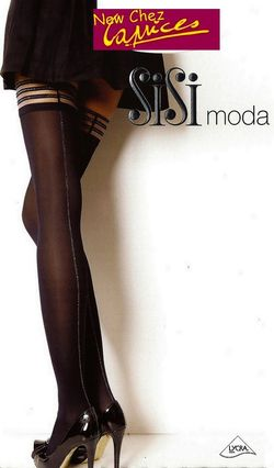 Bas up SiSi Moda opaque couture lurex