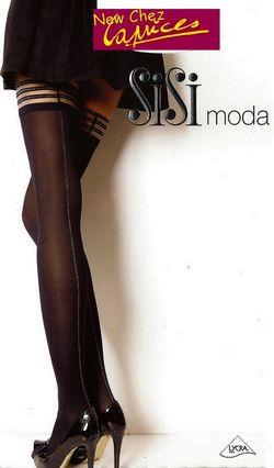 Bas up SiSi Moda opaque couture lurex