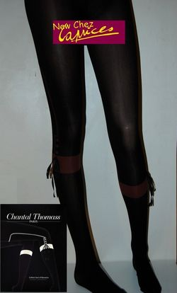 Collant Chantal THOMASS saut d'obstacles-marron