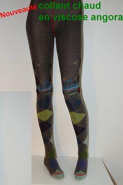 Collant-fil-de-joie-viscose-angora-carreaux-vert-et-gris