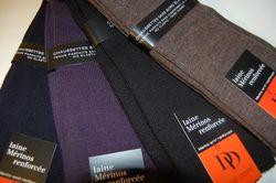 Chaussettes DD en laine Merinos renforcée sans élastiques