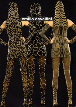 Collant Emilio Cavallini théme Peau de bête