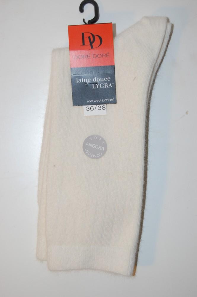 Chaussettes Doré-Doré laine douce ivoire
