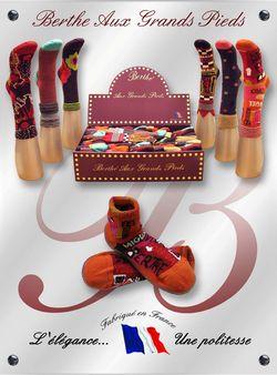 Coffret de chaussettes Berthe aux grands pieds hiver 2010