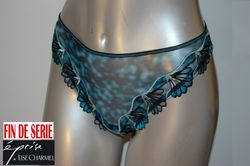 Turquoise florale Eprise de Lise Charmel string