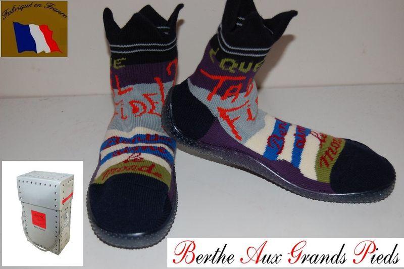 Shoes Berthe aux grands Pieds Berthe aime le monde