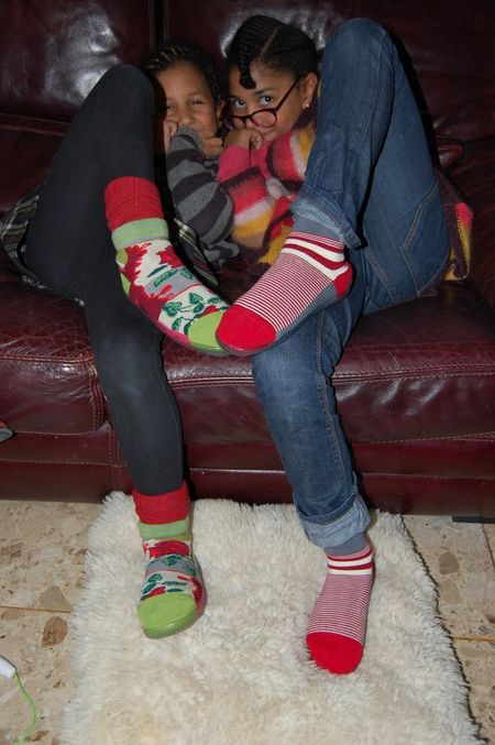 Les shoes Berthe aux grands pieds roses+ rayures