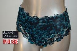 Turquoise florale Eprise de Lise Charmel culotte