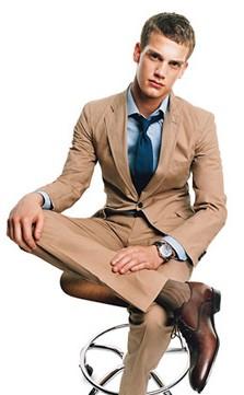 Chaussette de luxe pour homme