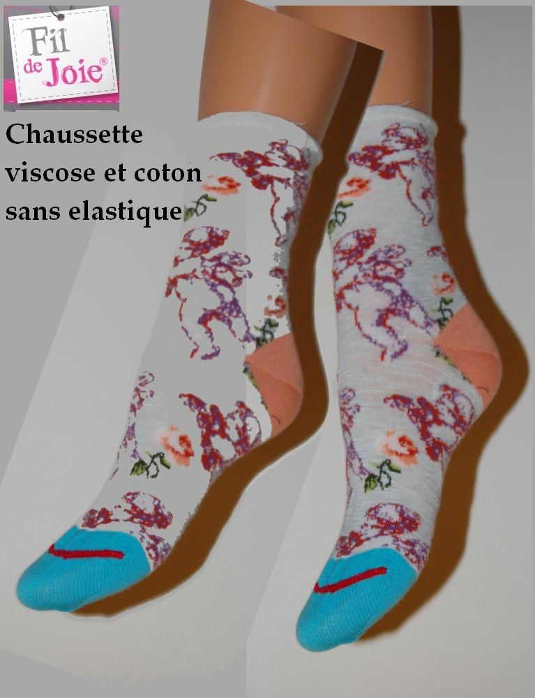 Chaussettes Fil de joie petits anges fil 0060