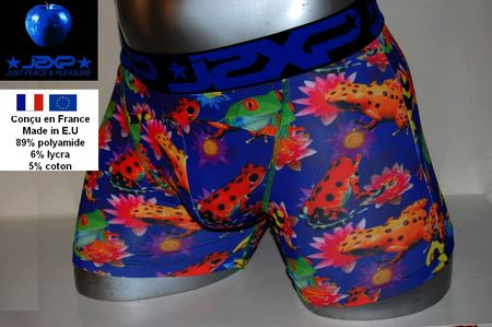 Boxer jipepe homme grenouilles