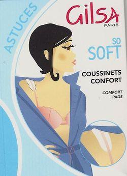 Gilsa Secret coussinets de confort et d'allégement