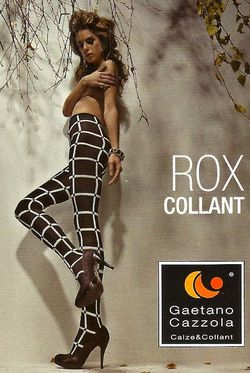 Collant Rox Cazzola Gaetano gros Carreaux