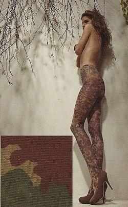 Collant Cazzola Gaetano Ross imprimé Camouflage