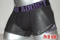 Boxer Hom coton black addict i have a dream