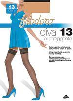 Bas up Filodoro diva 13 den Lycra