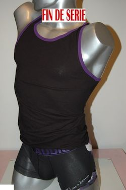Boxer Hom coton black addict ensemble i have a dream