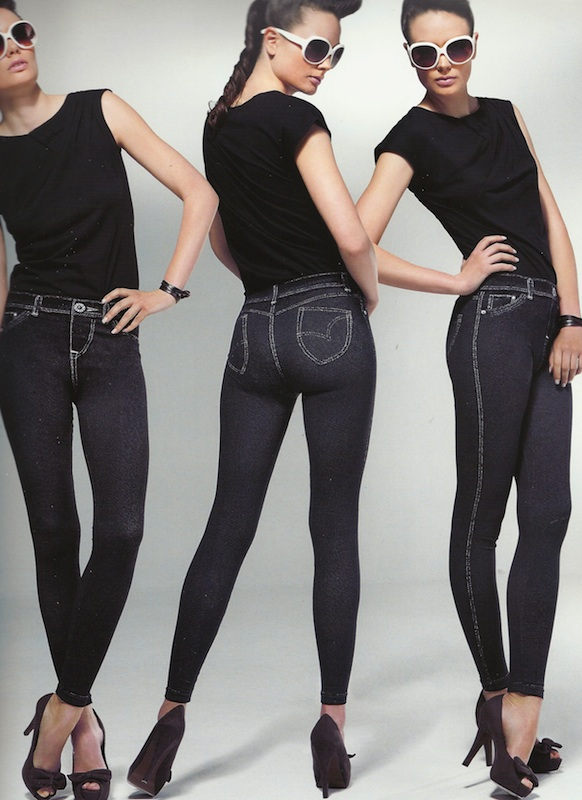 Collant Platino Legging Jeans