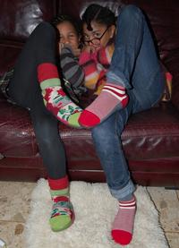 Chaussons berthe aux grands pieds pour enfants
