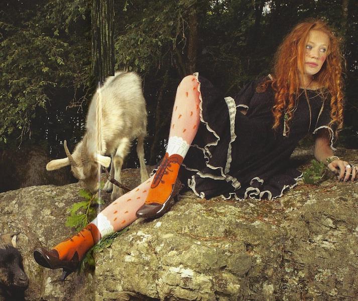Collant Les Queues de sardines Heidi  dans les bois