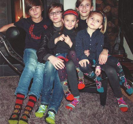 1-Des chaussettes pour les longues soirées d'hiver Berthe aux Grands Pieds