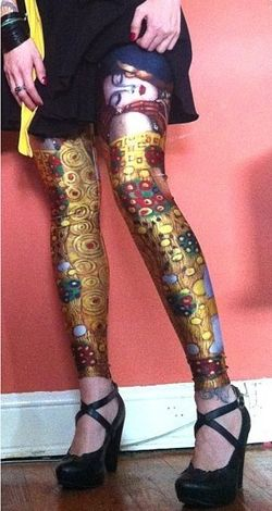 Caleçon Galaxy de Gustave Klimt 2
