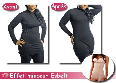 L'effet Body Esbelt avant après