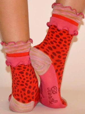 Chaussettes-berthe-aux-grands-pieds-panthère-rouge