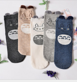 Lot-chaussettes-totoro