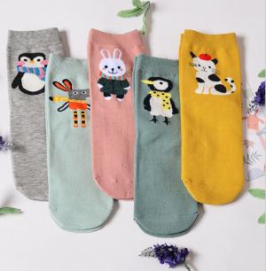 Lot-chaussettes-petits-animaux-délire-5P